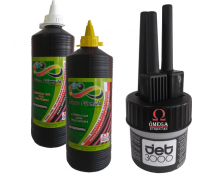 Kit Meto 3 Pontas+ 500ml Tinta Amarela + 500ml Removedor